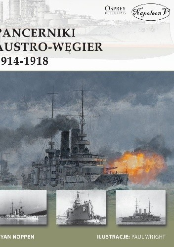 Okładka książki Pancerniki Austro-Węgier 1914-1918