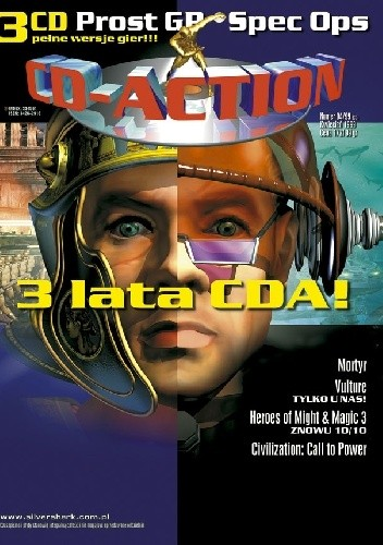 Okładka książki CD-Action 04/99