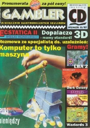 Okładka książki Gambler 11/97