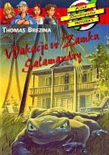 Okładka książki Wakacje w zamku Salamandry