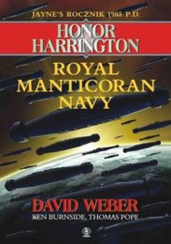 Okładka książki Jayne's rok 1905 P. D. Royal Manticoran Navy