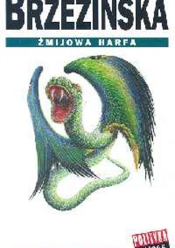 Okładka książki Żmijowa harfa