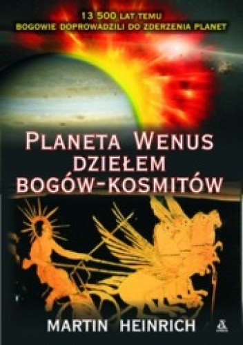 Okładka książki Planeta Wenus Dziełem Bogów- Kosmitów