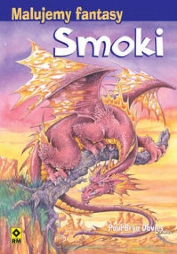 Okładka książki Smoki Malujemy fantasy