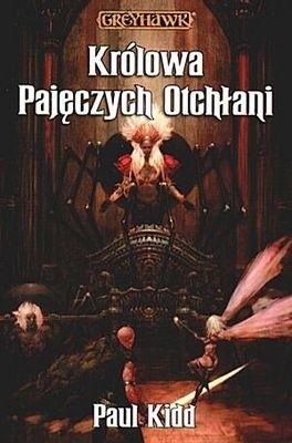 Okładka książki Królowa Pajęczych Otchłani