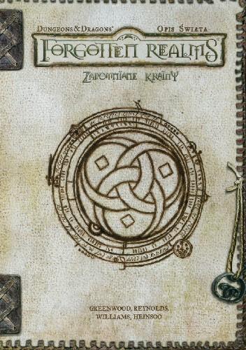Okładka książki Zapomniane Krainy. Opis Świata