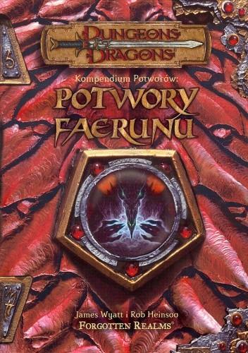 Okładka książki Potwory Faerunu
