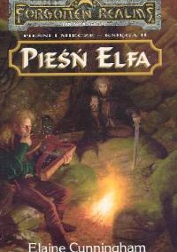 Okładka książki Pieśń Elfa