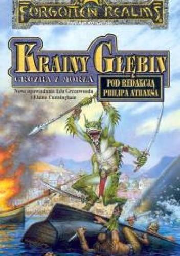 Okładka książki Krainy Głębin. Groźba z morza