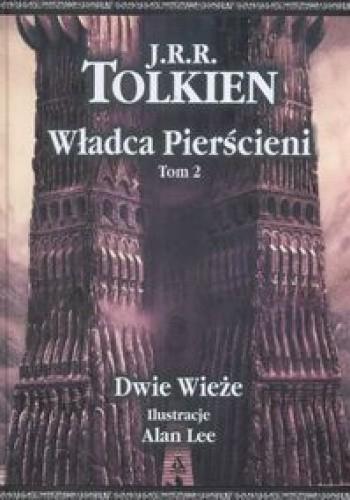 Okładka książki Władca Pierścieni. Dwie wieże