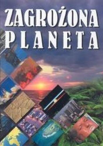 Okładka książki zagrożona planeta