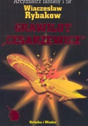 """Okładka książki Grawilot """"Cesarzewicz"""""""