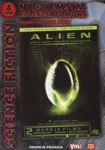 Okładka książki Alien. Obcy: ósmy pasażer Nostromo