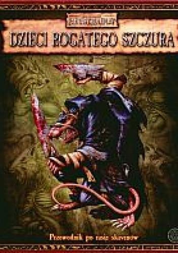 Okładka książki Dzieci Rogatego Szczura. Przewodnik po rasie skavenów
