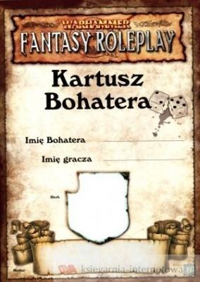 Okładka książki Kartusz Bohatera. Warhammer