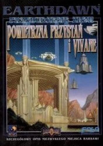Okładka książki Powietrzna przystań i Vivane