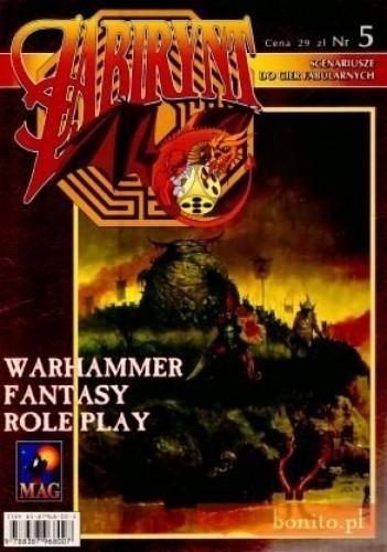 Okładka książki Labirynt Nr 5. Scenariusze do gier fabularnych