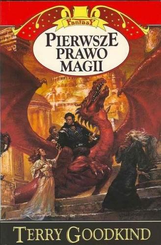 Okładka książki Pierwsze prawo magii