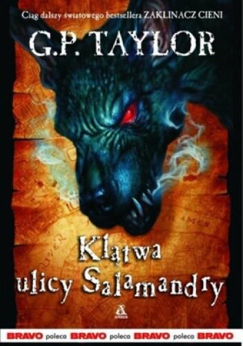 Okładka książki Klątwa ulicy Salamandry