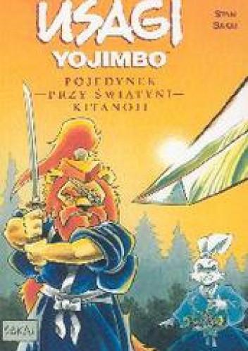 Okładka książki Usagi Yojimbo: Pojedynek przy Świątyni Kitanoji