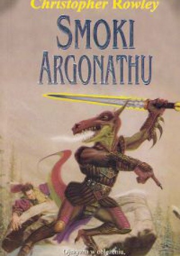 Okładka książki Smoki Argonathu