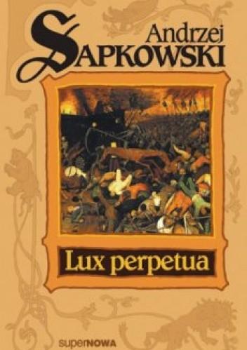 Okładka książki Lux perpetua