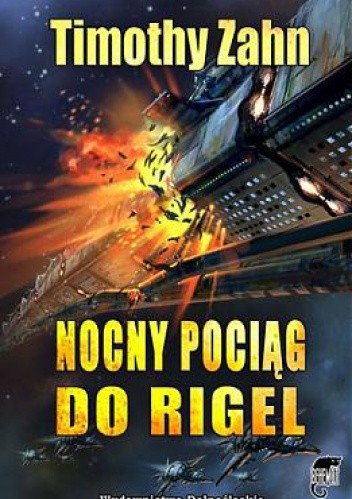 Okładka książki Nocny pociąg do Rigel