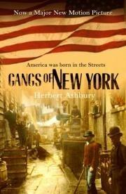 Okładka książki The Gangs of New York