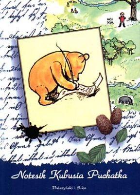 Okładka książki Notesik Kubusia Puchatka