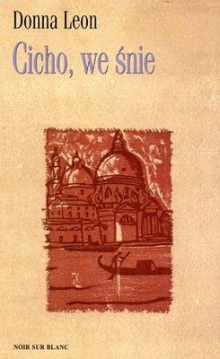 Okładka książki Cicho, we śnie
