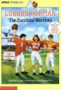 Okładka książki zucchini Warriors