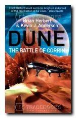 Okładka książki Dune Battle of Corrin