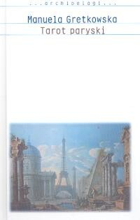 Okładka książki Tarot paryski