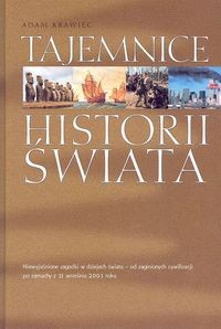 Okładka książki Tajemnice historii świata