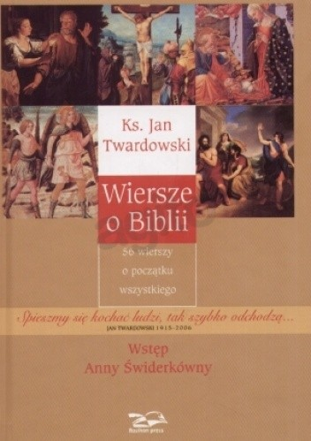 Okładka książki Wiersze o Biblii