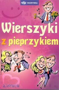 Okładka książki Wierszyki z pieprzykiem