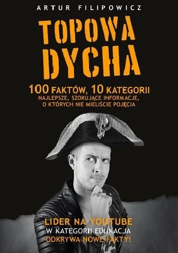 Okładka książki Topowa Dycha. 100 faktów, 10 kategorii, najlepsze, szokujące informacje, o których nie mieliście pojęcia