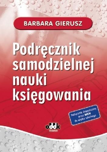 Okładka książki Podręcznik samodzielnej nauki księgowania