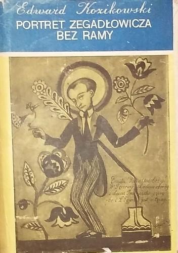 Okładka książki Portret Zegadłowicza bez ramy