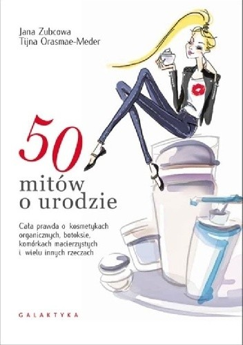 Okładka książki 50 mitów o urodzie