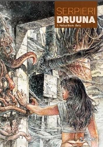 Okładka książki Druuna #1: Morbus Gravis. Delta