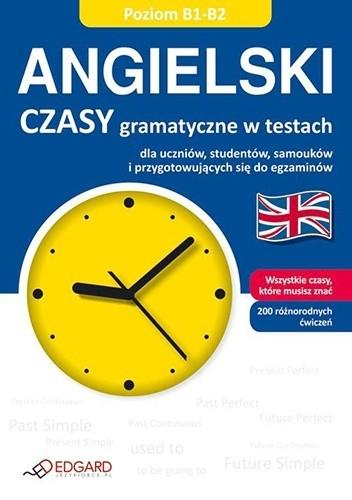 Okładka książki Angielski. Czasy gramatyczne w testach