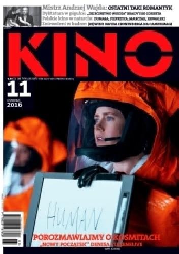 Okładka książki Kino, nr 11 / listopad 2016