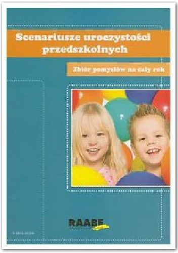 Okładka książki Scenariusze uroczystości przedszkolnych