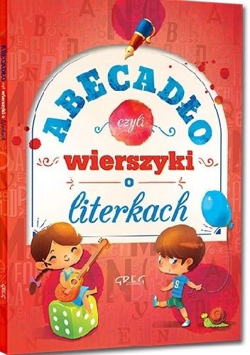 Okładka książki Abecadło, czyli wierszyki o literkach