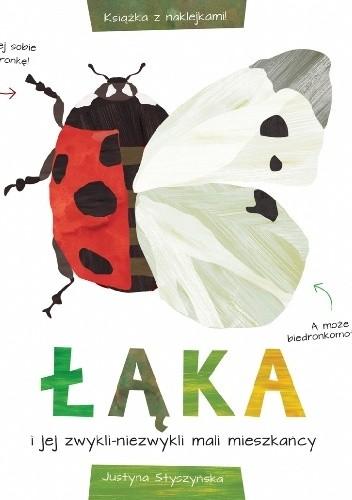 Okładka książki ŁĄKA i jej zwykli – niezwykli mali mieszkańcy