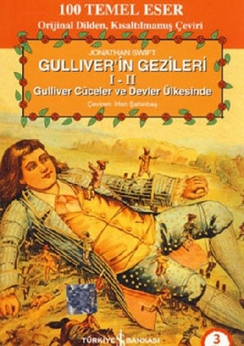 Okładka książki Guliver'in Gezileri I-II: Gulliver Cüceler ve Devler Ülkesinde