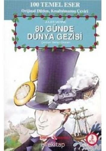 Okładka książki 80 Günde Dünya Gezisi