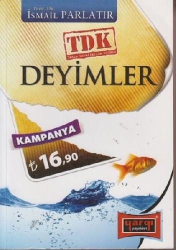 Okładka książki Deyimler Sözlüğü - TDK Yazım Kurallarına Uyumlu