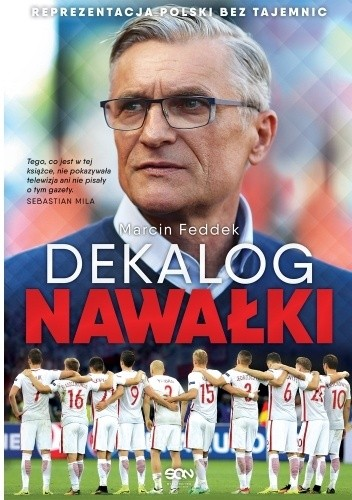 Okładka książki Dekalog Nawałki